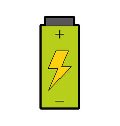 Battery electric energy vector