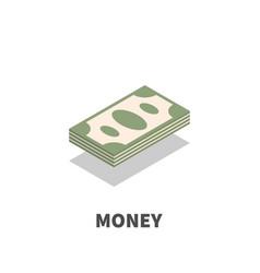 money icon symbol vector image