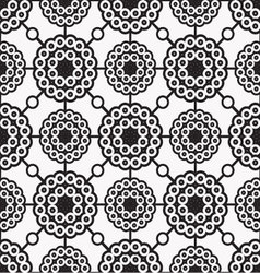 patterns seamless circles 02 vector image vector image