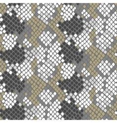 Python snake skin artificial seamless vector