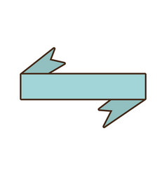 Ribbon decoration ornament icon vector