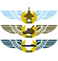 Army badges-4 vector
