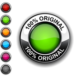 100 original button vector
