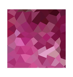 French rose pink abstract low polygon background vector