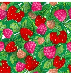 Seamless pattern of realistic image delicious ripe vector