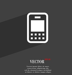 Mobile telecommunications technology icon symbol vector image