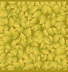 nature abstract gold seamess pattern vector image vector image