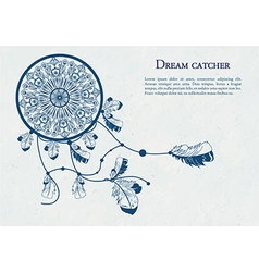 Decorative dreamcatcher vector