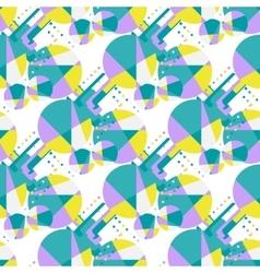 Modern african seamless pattern vector