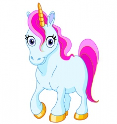 cute unicorn vector image