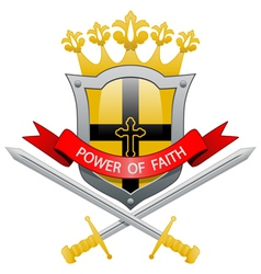 Power of faith vector