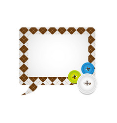 Figures square chat bubbles icon vector