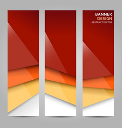 Abstract background in warm colors with stripes vector