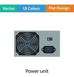 Power unit icon vector image vector image