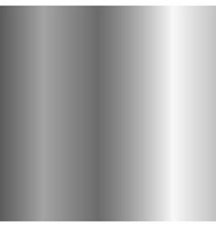 Silver metal plate vertical vector image