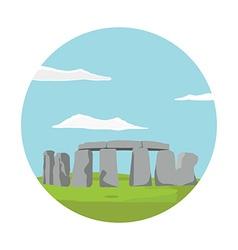 Stonehenge monument vector