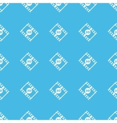 3d movie straight pattern vector