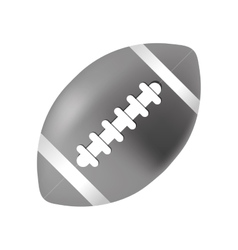 american football ball vector image