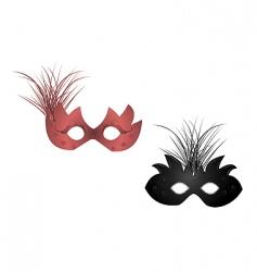 carnival masks vector image vector image