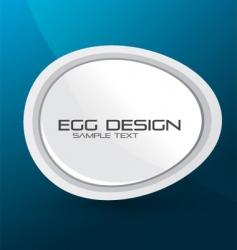 egg design background vector image vector image