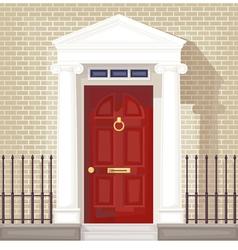 front door vector image vector image