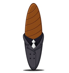 Mafia cigar vector
