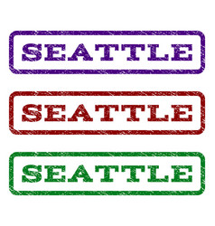 Seattle watermark stamp vector