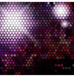 Gold disco lights - abstract background vector