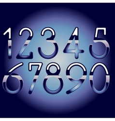 Chrome numbers vector