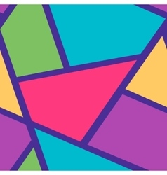Seamless background pattern with triangles and vector