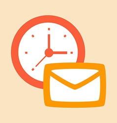 Time correspondence and letters vector
