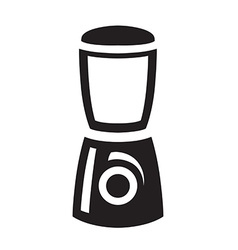 Black blender icon on white background vector