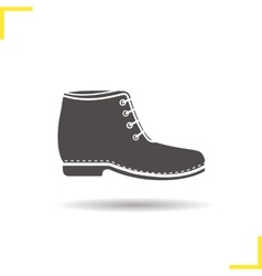 Boot icon vector