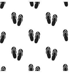 Slippers icon of for web and vector