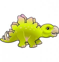 stegosaurus vector image vector image