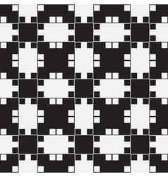 Black white optical seamless pattern background vector