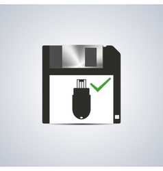 Icon successful write vector