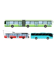 City road transport vector