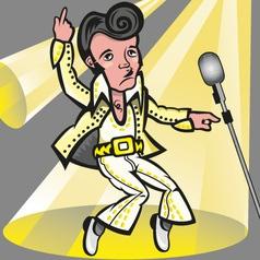 Elvis presley vector
