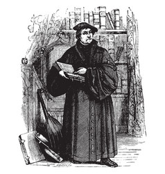 Martin luther vintage vector