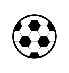 Soccer ball icon toy design graphic vector