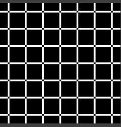 black square on white background seamless vector image vector image
