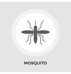 Mosquito flat icon vector