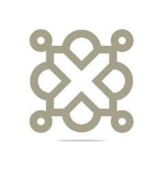 Square element combination symbol vector
