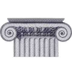 classic column vector image