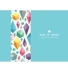 hanging geometric shapes horizontal decor seamless vector image