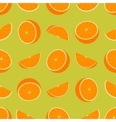 Orange Seamless Pattern vector image vector image