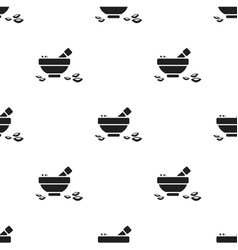 Salt bowl icon of for web and vector
