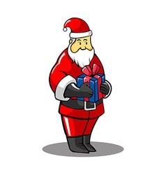 Santa gift vector