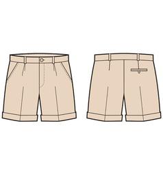 Shorts vector